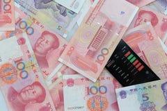 chiński pieniądze zdjęcie stock