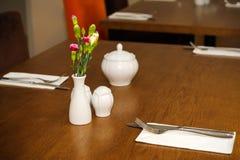 chiński położenia stylu stół Zdjęcie Royalty Free