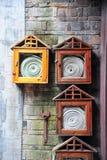 chiński pożarniczego hydranta styl Obrazy Stock