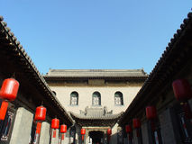 chiński podwórzowy tradycyjny Fotografia Royalty Free