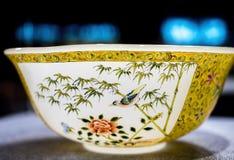 Chiński porcelana puchar w Shanghai Pudong lotnisku międzynarodowym, Chiny zdjęcia stock