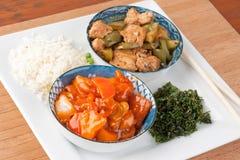 chiński posiłek obrazy stock