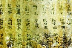 chiński słowa Zdjęcie Royalty Free