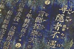 chiński słowa Obrazy Stock