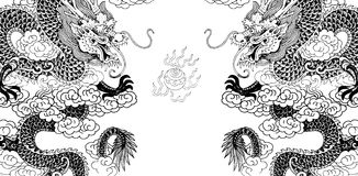 chiński smok zdjęcia royalty free