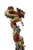 Chiński smoka kraul zdjęcia royalty free
