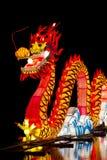 Chiński smoka lampion obrazy stock