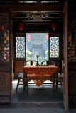 Starego stylu żywy pokój Zdjęcie Stock