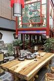 chiński styl herbaciarnię Fotografia Royalty Free