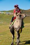chiński szczęśliwy turysta Zdjęcia Royalty Free