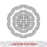 Chiński Szczęsliwy Wzór Obraz Royalty Free