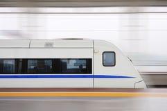 chiński szybki pociąg Obraz Royalty Free