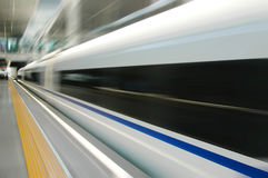 chiński szybki pociąg zdjęcie stock