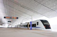 chiński szybki pociąg Zdjęcia Stock
