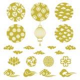 Chiński tło royalty ilustracja