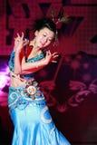 chiński tancerką Zdjęcia Royalty Free