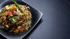 Chiński tradycyjny zdrowotny łasowania veggie posiłek zdjęcie royalty free