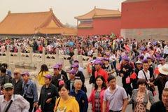 Chiński turysta zdjęcie royalty free