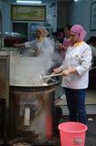 Chiński uliczny kucharstwo Obraz Stock