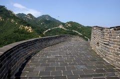 chiński wielki mur Zdjęcia Stock