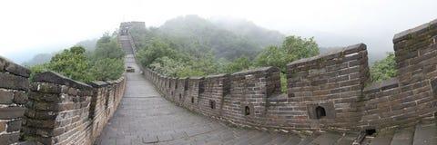 Chiński wielki mur obrazy stock