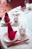 chiński zastawy stołowe Zdjęcie Stock