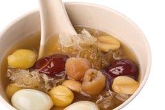 chiński ziołowy zupny cukierki zdjęcia stock