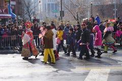 2015 Chińskich Księżycowych nowy rok parad 12 Zdjęcie Royalty Free