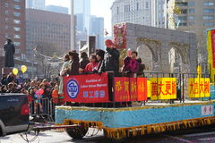 2015 Chińskich Księżycowych nowy rok parad 147 Obrazy Royalty Free