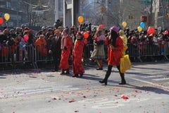 2015 Chińskich Księżycowych nowy rok parad 212 Fotografia Royalty Free
