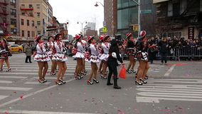 2014 Chińskich nowy rok świętowań W NYC 61 Fotografia Royalty Free