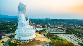 Chińskie świątynne wata Hyua śliwki Kanga w Chiang Raja północy Tajlandia obrazy royalty free
