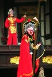 Chińskie artysty odmieniania maski obraz royalty free