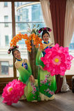 chińskie kobiety zdjęcie royalty free