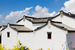 Chińskie krajowe właściwości potoczni mieszkaniowi budynki Zdjęcia Stock
