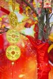 Chińskie Księżycowe nowego roku ot Tet dekoracje, Wietnam Obraz Stock