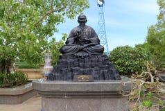 Chińskie mitologii statuy w Chińskiej świątyni Fotografia Stock