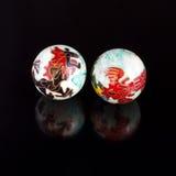 Chińskie piłki Zdjęcie Royalty Free