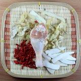 Chińskie pikantność i kurczak Obrazy Royalty Free