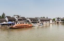 Chińskie przyjemności łodzie zdjęcie royalty free