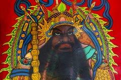 Chińskie tradycje, ludowe wiary, portiery, bóg bóg zdjęcie stock