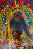 Chińskie tradycje, ludowe wiary, portiery, bóg bóg obraz stock