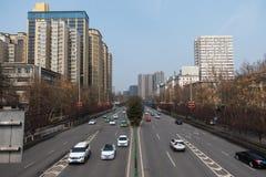Chińskiego budynku mieszkaniowego Highrise Wysoki rozwój Żyje Spac fotografia stock