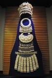 chińskiego miao mniejszościowy ornamentów srebro Zdjęcie Royalty Free