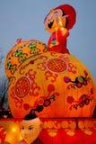2016 Chińskiego nowego roku świątynnych jarmarków i latarniowego festiwal w Chengdu Zdjęcie Royalty Free