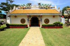 Chińskiego smoka Buddyjska świątynia, Tajlandia Fotografia Stock