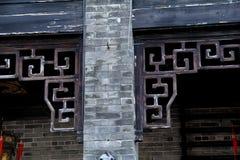 Chińskiego stylu architektury stary budynek obrazy royalty free