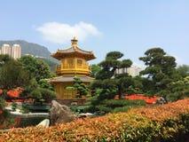Chi πάρκο κήπων της Zen μονών καλογραιών της Lin Στοκ φωτογραφίες με δικαίωμα ελεύθερης χρήσης