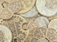 chińczycy monety Zdjęcia Stock
