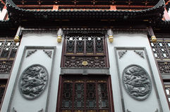 chińczycy tradycyjne struktury Obraz Royalty Free